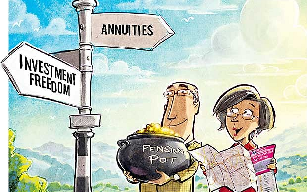 Why is everyone cashing in their pension?